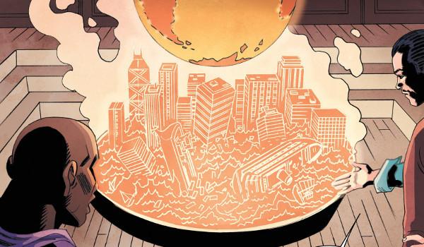 Flash Gordon: King's Cross #1 comic review
