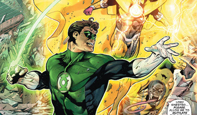 Hal Jordan and The Green Lantern Corps #7 comic review