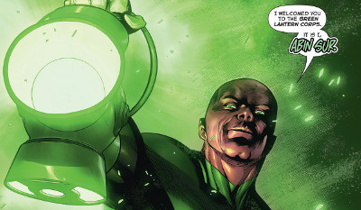 Hal Jordan and The Green Lantern Corps #9 comic review