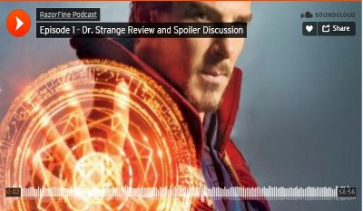 RazorFine Podcast Episode I – Doctor Strange