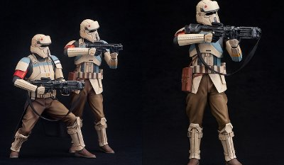 Rogue One Scarif Stormtrooper ARTFX+ Figures