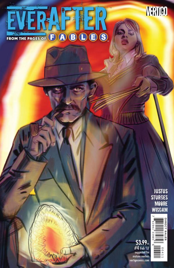 Everafter #4 comic review