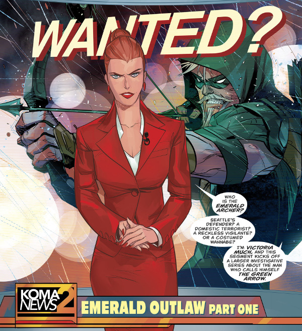 Green Arrow #12 comic review