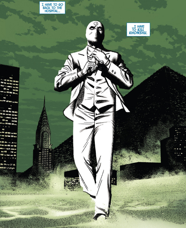 Moon Knight #9 comic review