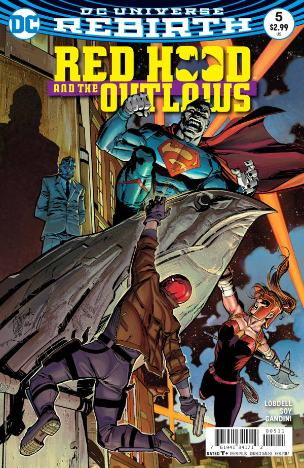 Red Hood and the Outlaws #5 comic review
