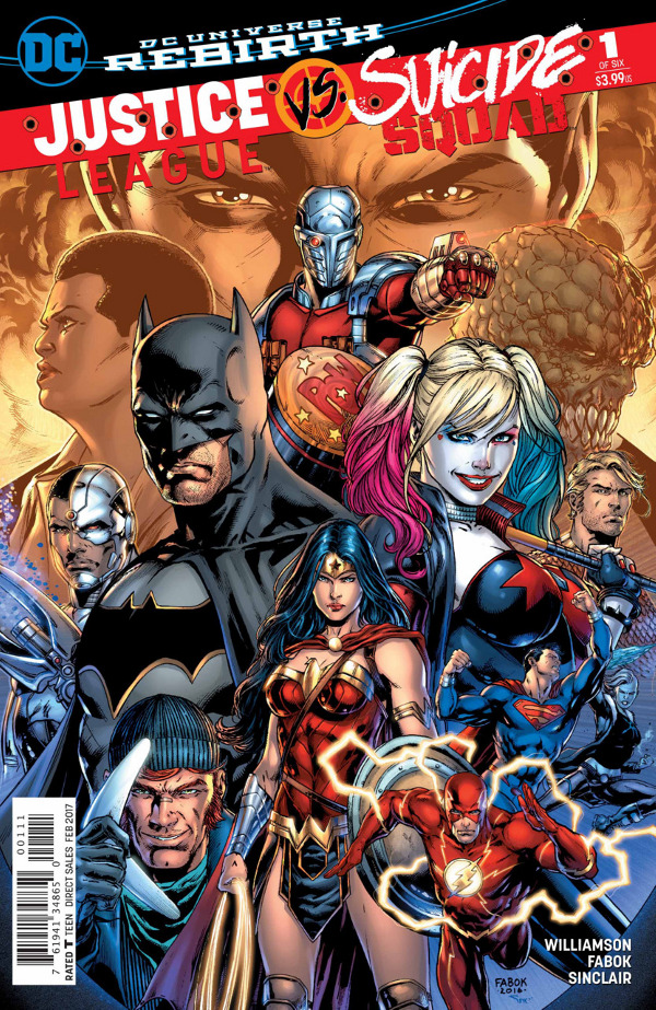 Justice League vs. Suicide Squad #1 comic review