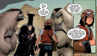 Star Wars: Doctor Aphra #1 comic review