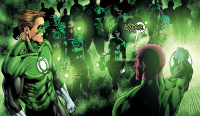 Hal Jordan and The Green Lantern Corps #10 comic review