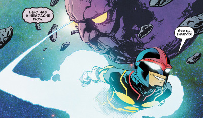 Nova #1 comic review