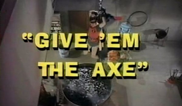 Batman - The Ring of Wax / Give 'Em the Axe TV review
