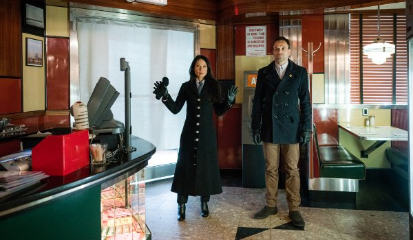 Elementary - Over a Barrel television review