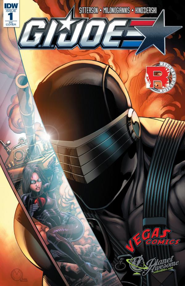 G.I. JOE #1 comic review