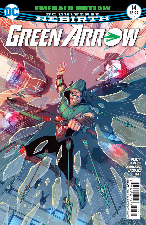 Green Arrow #14 comic review