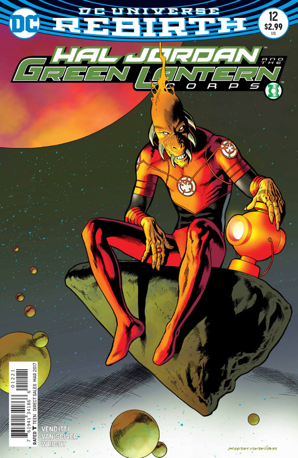 Hal Jordan and The Green Lantern Corps #12 comic review