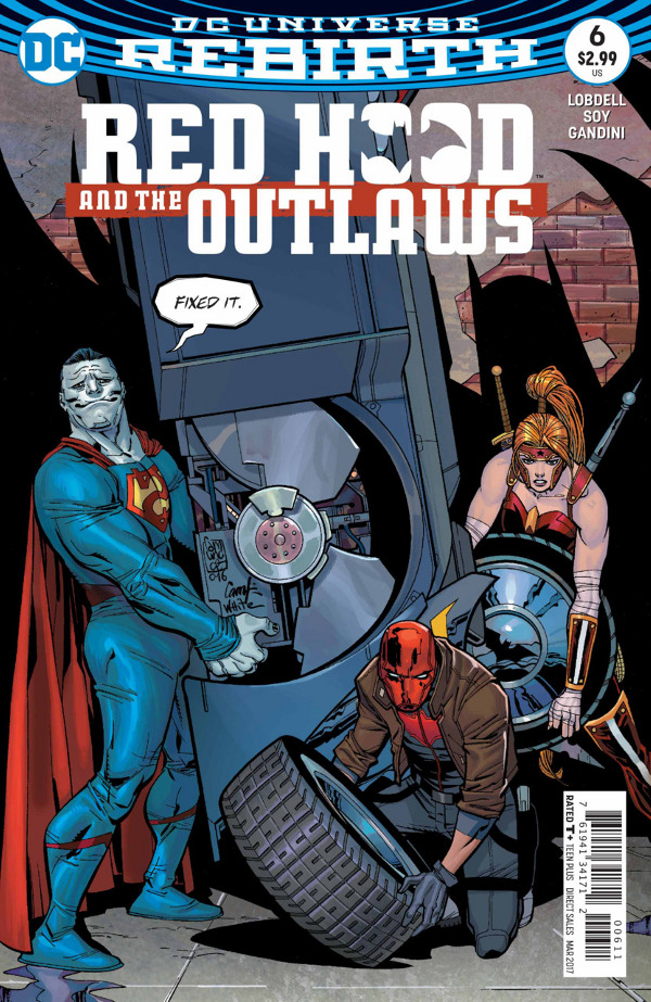 Red Hood and the Outlaws #6 comic review
