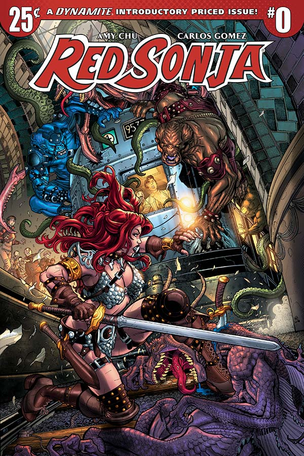 Red Sonja #0 comic review