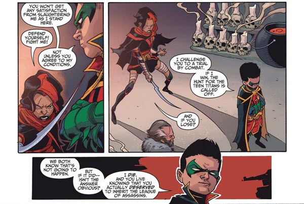 Teen Titans #4 comic review