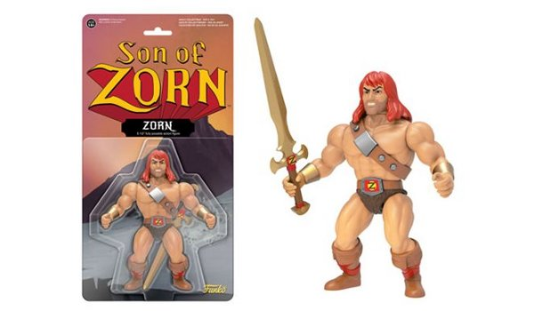 Zorn Action Figure