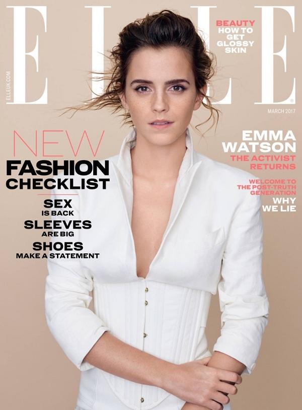Emma Watson - Elle UK (March 2017)