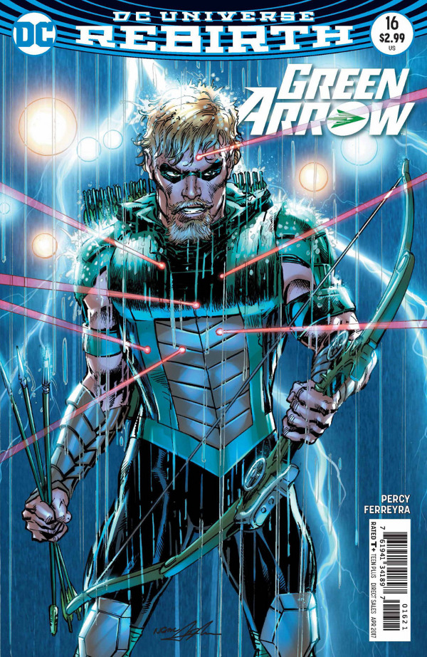 Green Arrow #16 comic review