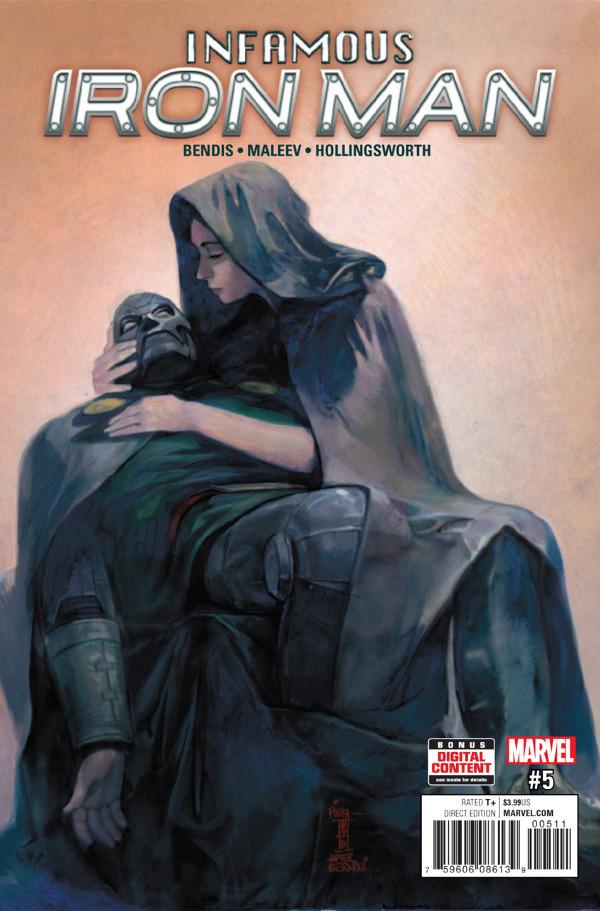Infamous Iron Man #5 comic review