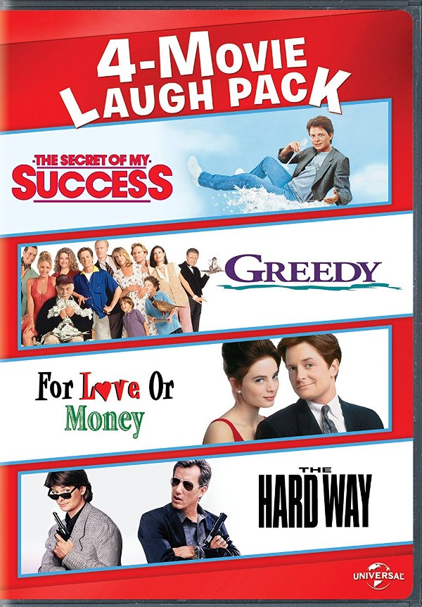 Michael J. Fox 4-Movie Laugh Pack