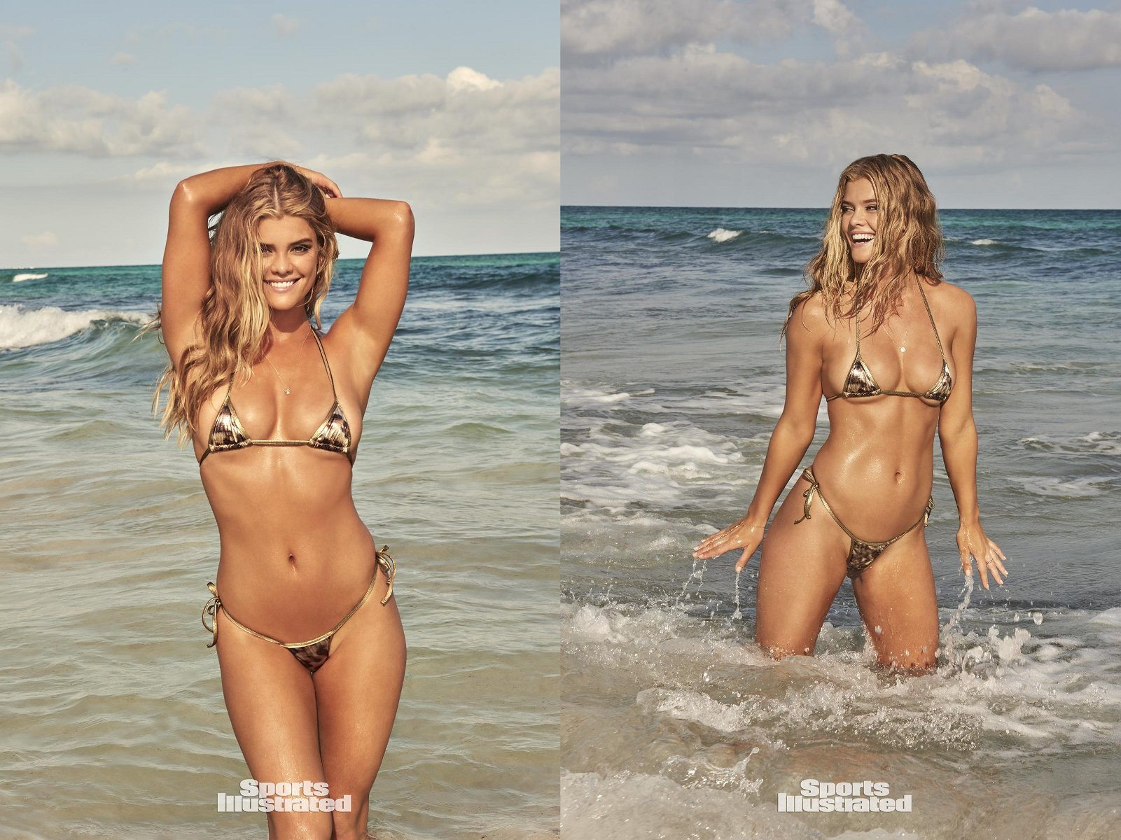 Sports Illustrated 2017 Swimsuit Model - Nina Agdal