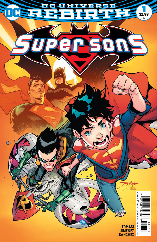 Super Sons #1 comic review