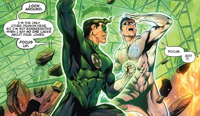 Hal Jordan and the Green Lantern Corps #14 comic review