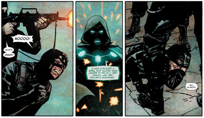 Infamous Iron Man #4 comic review