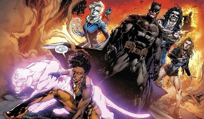 Justice League of America #1 comic review