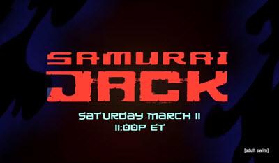 Coming Soon: Samurai Jack – Season 5