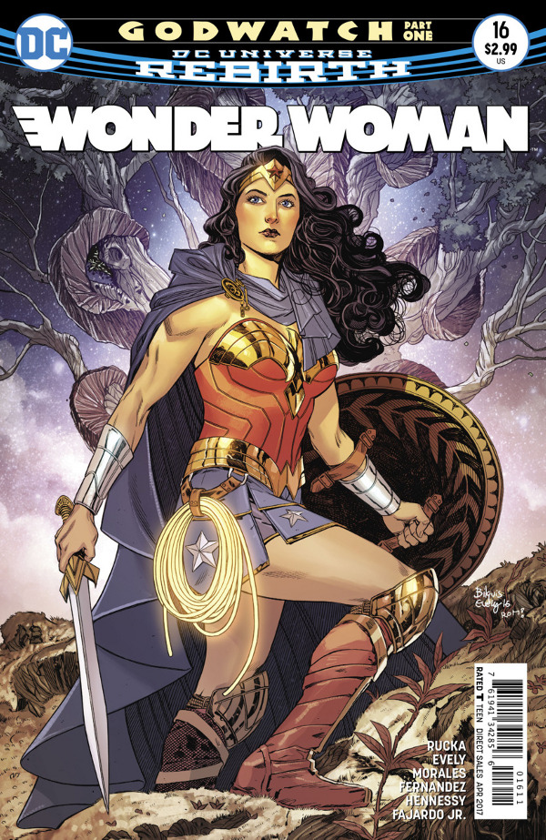 Wonder Woman #16 comic review
