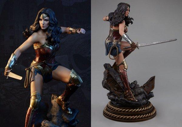 Wonder Woman BvS Premium Format Figure