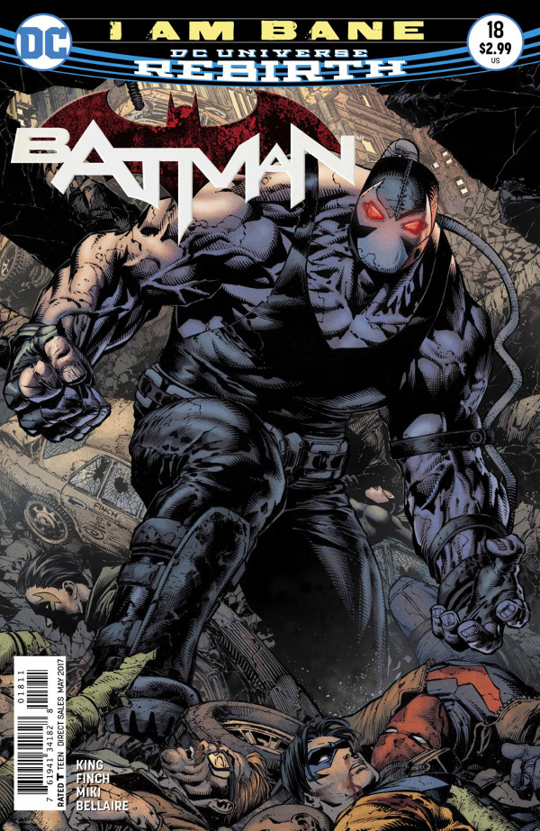 Batman #18 comic review