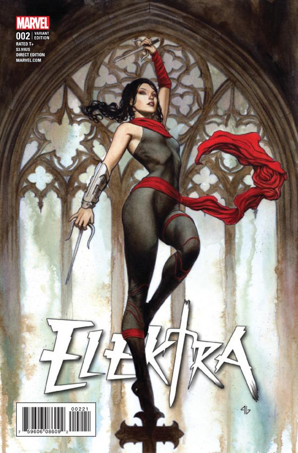Elektra #2 comic review