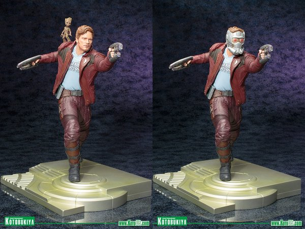 Star-Lord & Groot ARTFX Statue