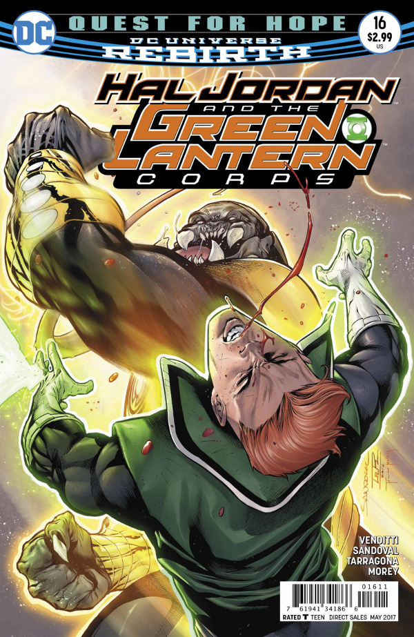 Hal Jordan and the Green Lantern Corps #16 comic review