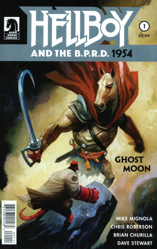 Hellboy and the B.P.R.D.: 1954--Ghost Moon #1 comic review