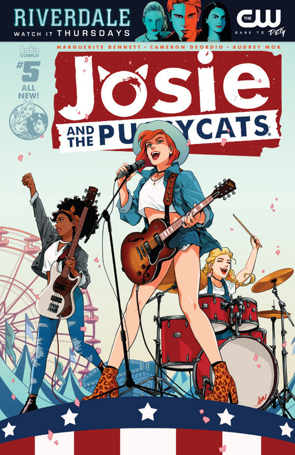 Josie and the Pussycats #5 comic review