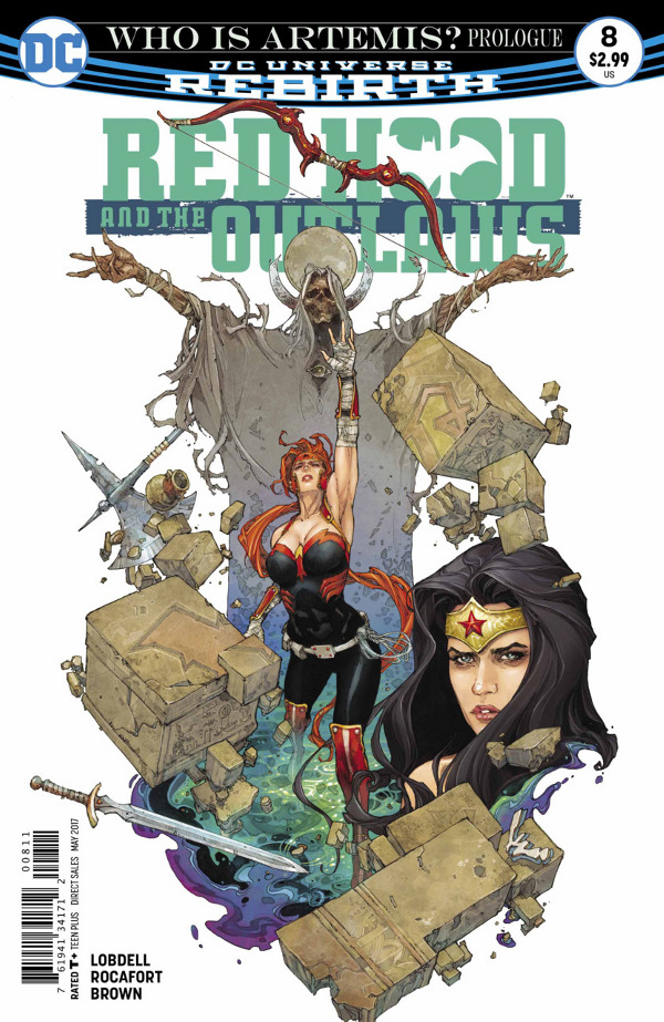 Red Hood and the Outlaws #8 comic review