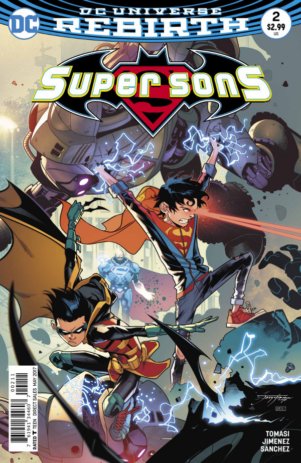 Super Sons #2 comic review