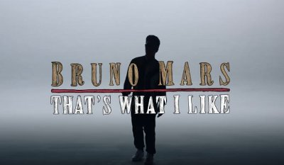 Bruno Mars – That's What I Like music video