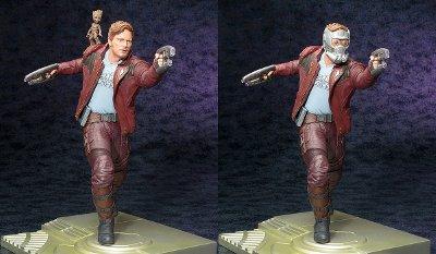 Star-Lord & Groot ARTFX Statue