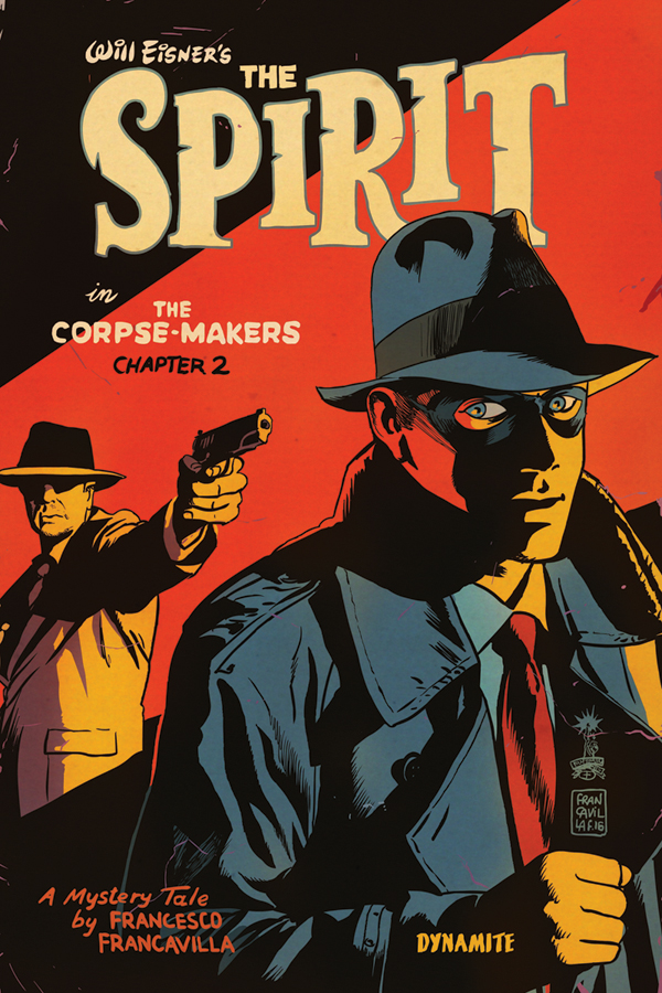 Will Eisner's The Spirit: The Corpse-Makers #2 comic review