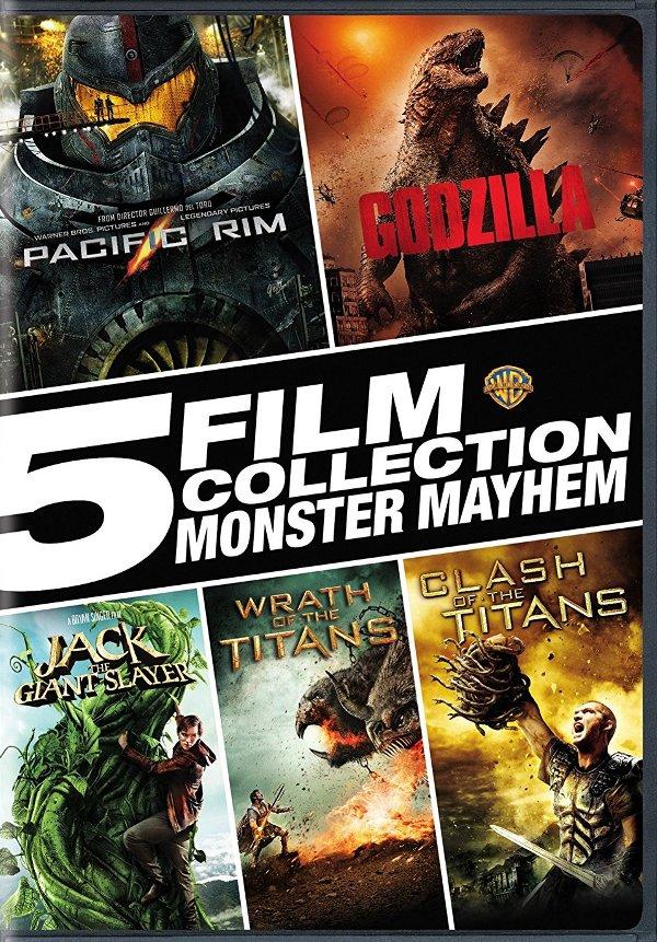 5 Film Collection: Monster Mayhem DVD review