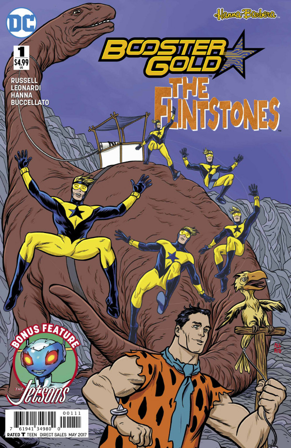 Booster Gold/The Flintstones Special #1 comic review