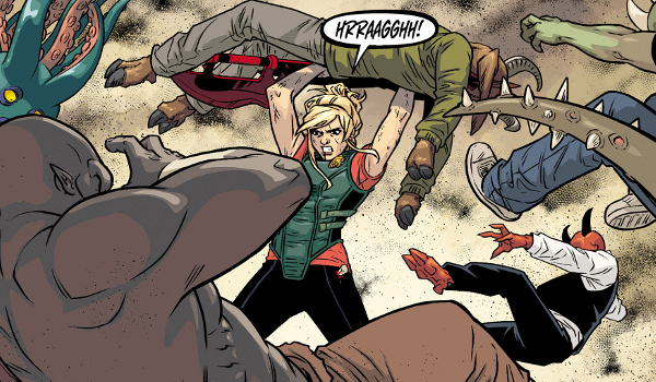 Buffy the Vampire Slayer Season Eleven #6 comic review
