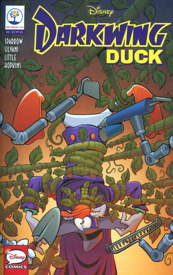 Darkwing Duck #8 comic review