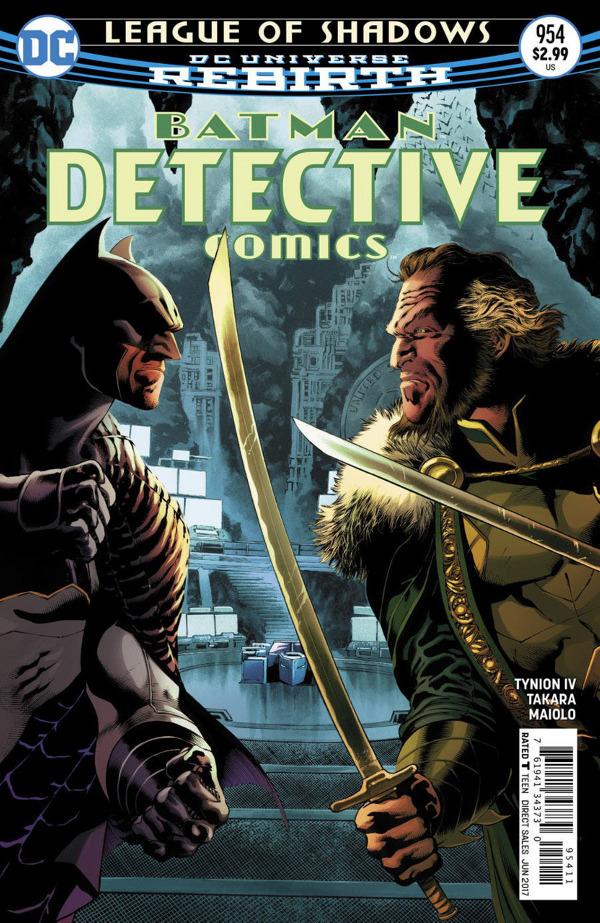 Detective Comics #954 comic review